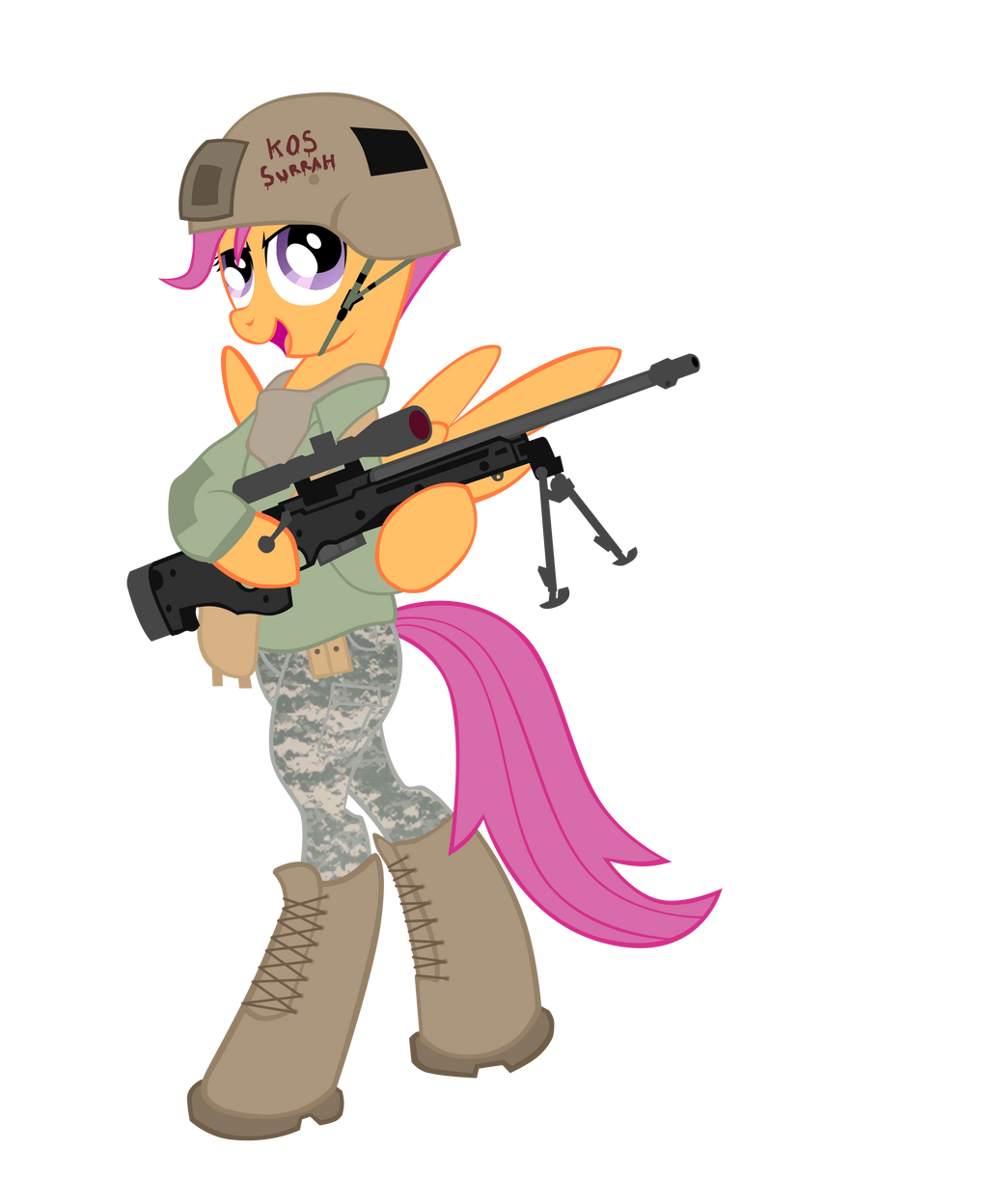 scootaloo by shadawg