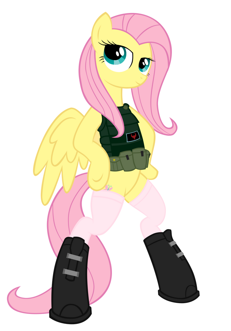 fluttershy by shadawg