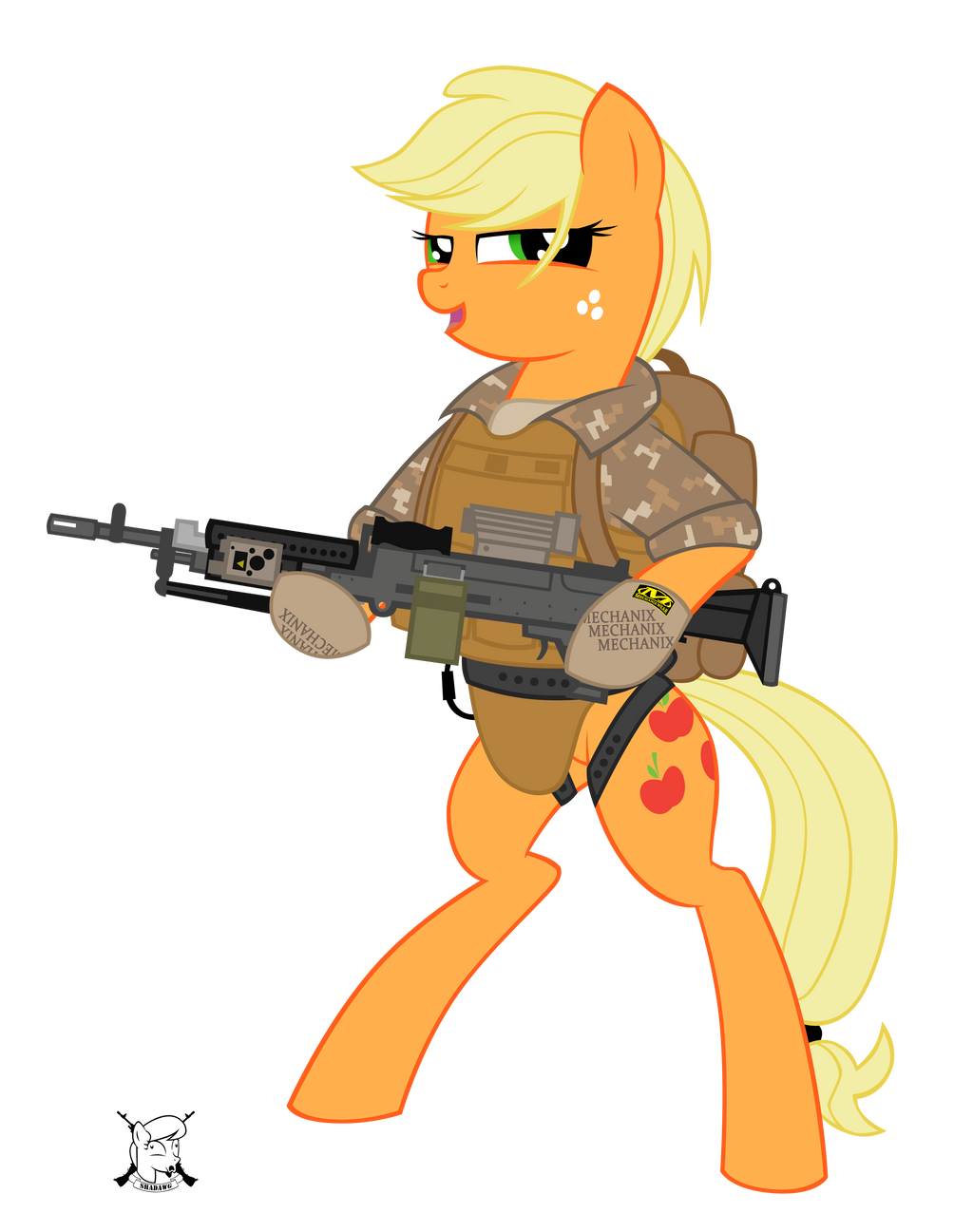 Applejack by shadawg