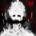 Horrortale Grillby :Contest Entry: by M-00NY