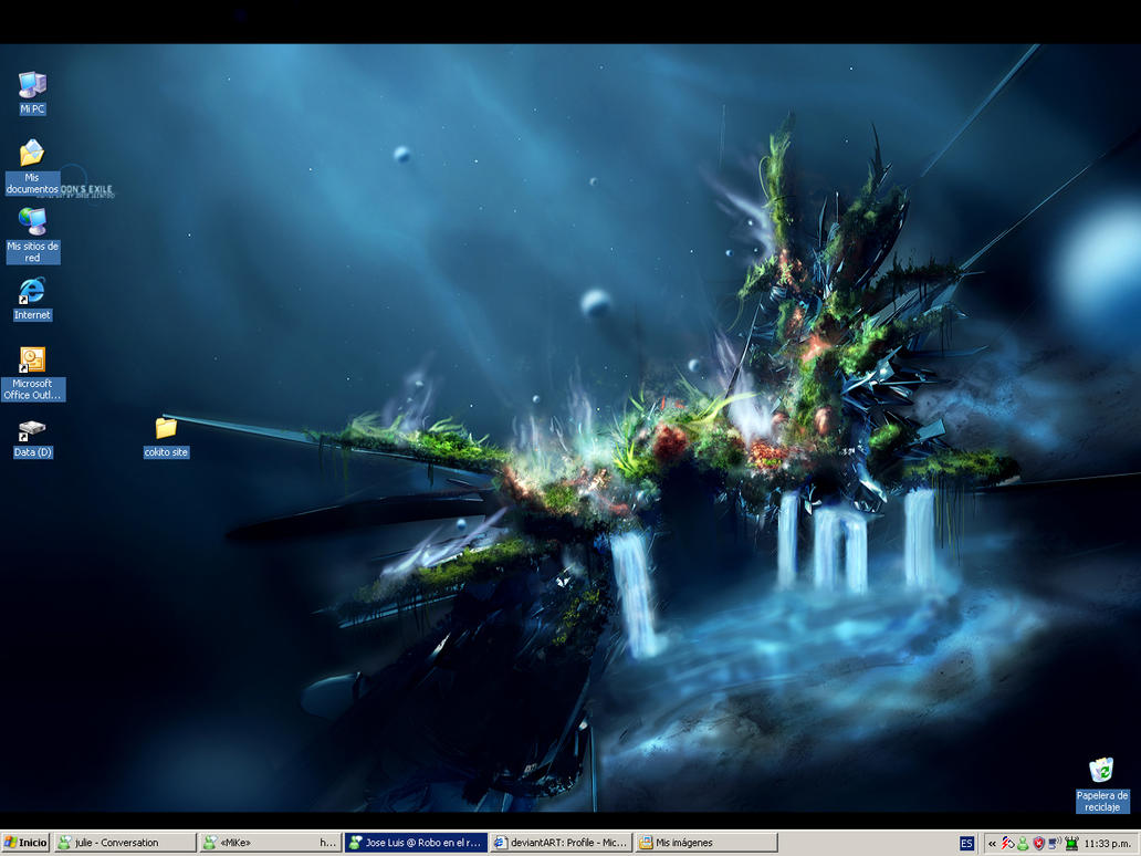 Desktop by Aratgaer