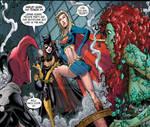 Batwomen and Super Girl
