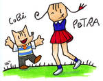Cobi and Petra