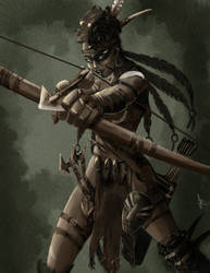 Concept Wild Huntress