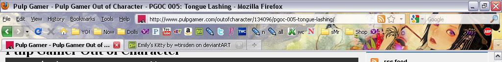 convenient Firefox bookmarks