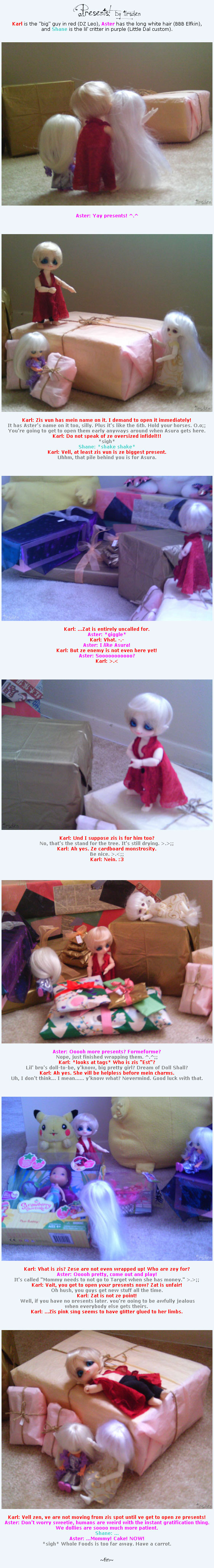 Presents by tirsden