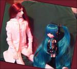 :. asura and miku .:
