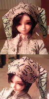 bunny hat for Mihr by tirsden