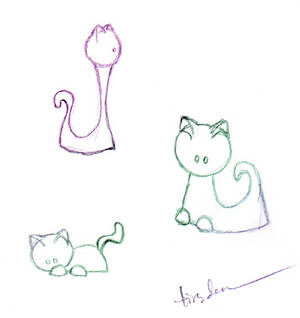Kitties Inspired By Cat Lady