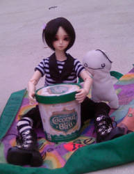 Aiden And Cryplush can has icecream