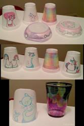 PT Rehab Styrofoam Cup Art 1