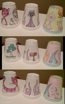 PT Rehab Styrofoam Cup Art 2