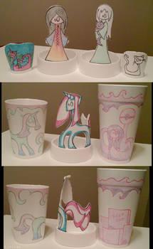 PT Rehab Styrofoam Cup Art 6