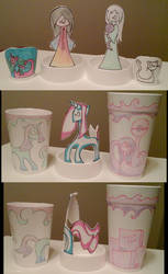 PT Rehab Styrofoam Cup Art 6 by tirsden