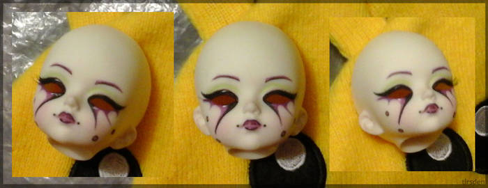 Migidoll Ruby faceup by tirsden