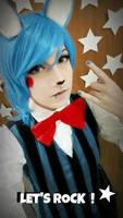 Let's Rock ! - Toy Bonnie cosplay by HazyCosplayer