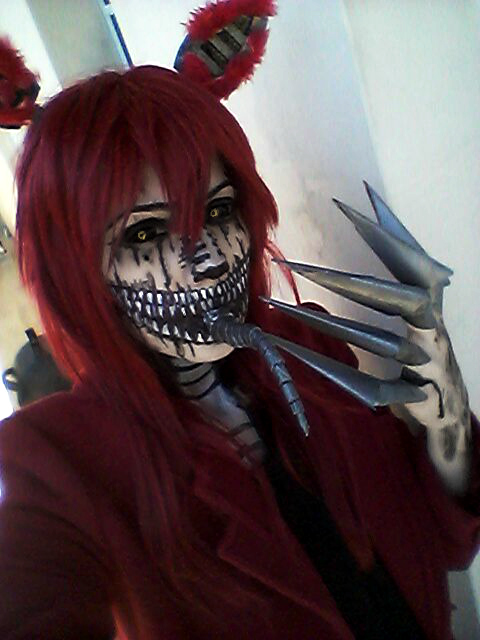 Nightmare Foxy Cosplay Hazycosplayer Deviantart