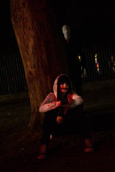Jeff the killer and Slender man ( cosplay )