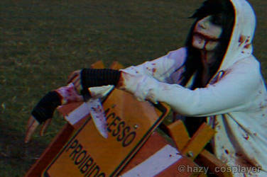 Acesso proibido - Jeff the killer - Cosplay