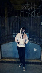 Jeff in the gates (Jeff the killer cosplay)
