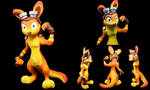 Daxter Sculpture by KoochiWoochiKrafts