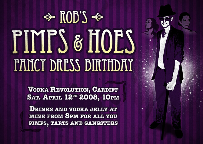 Pimps and Hoes Party by robbarrett on DeviantArt