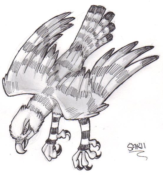 Kestrel Sarii by ExterminatorAlucard