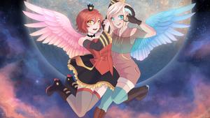 Electric Angel by Kastraz