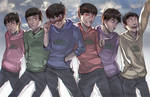 Osomatsu-san!!! by Vultureen
