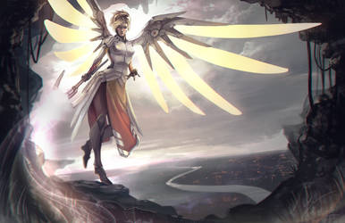Mercy: I've got you by Vultureen