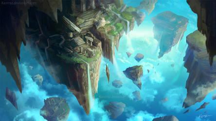 COMM: Floating Islands by Kastraz