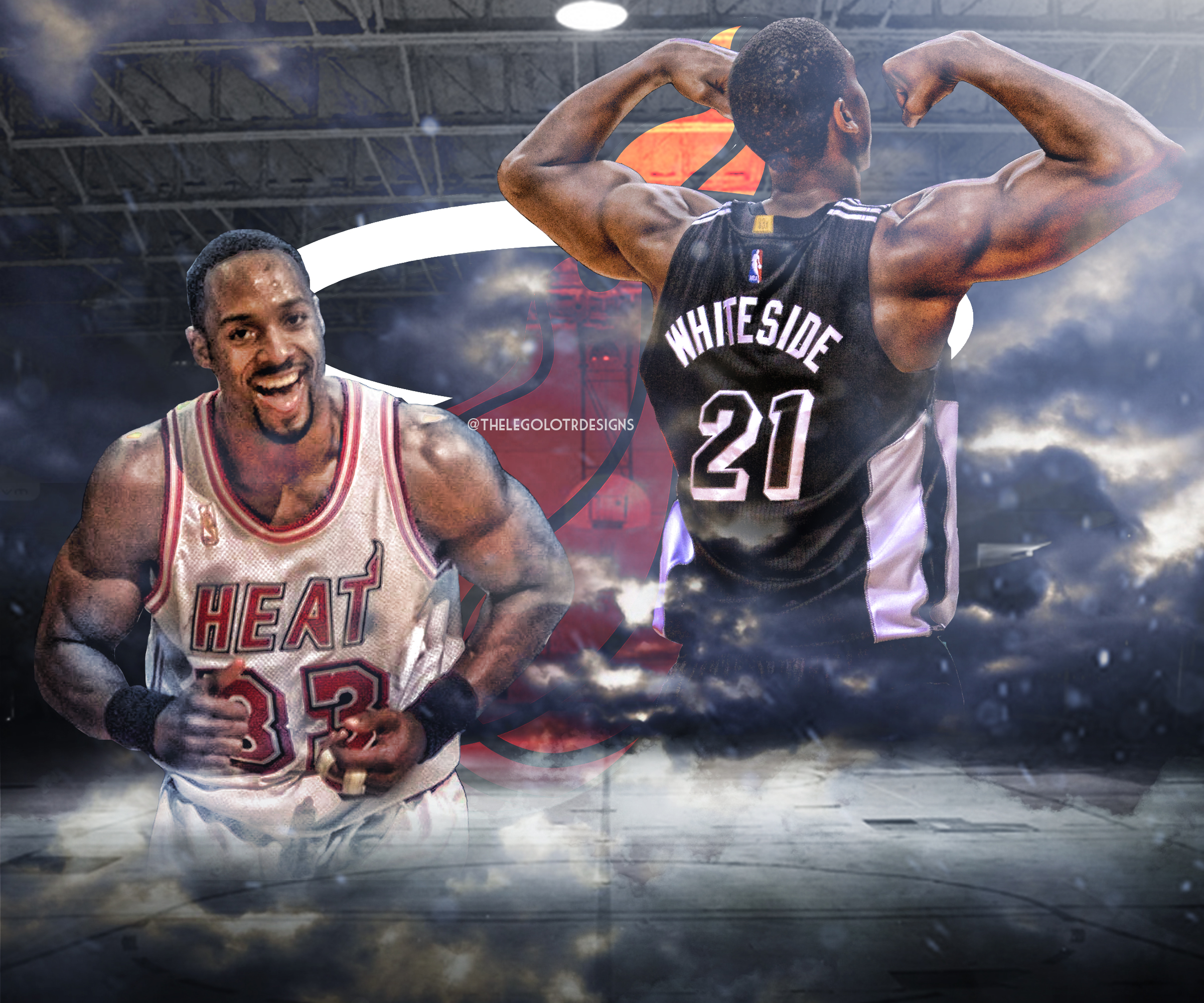 Alonzo Mourning and Hassan Whiteside by TheLeGoLotR on DeviantArt