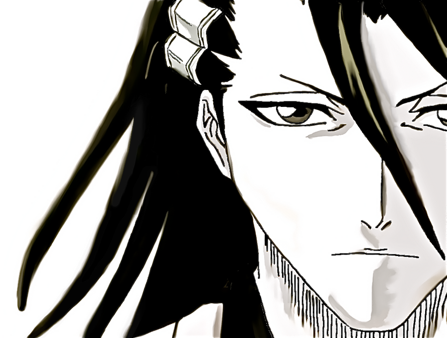 BLEACH: Byakuya Kuchiki by Ainwen27