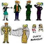 Merek and Ellen Outfits (Masterpost)