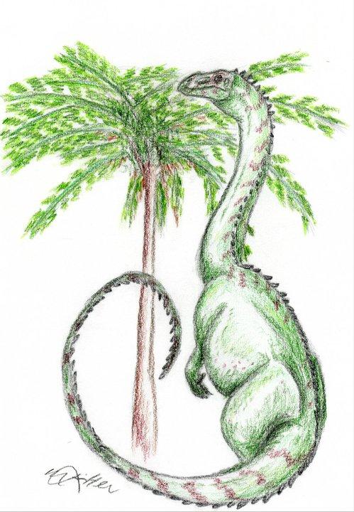 Plateosaurus by DinoGirl121
