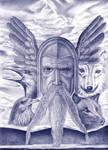 Odin 'sacred Norse spirit'