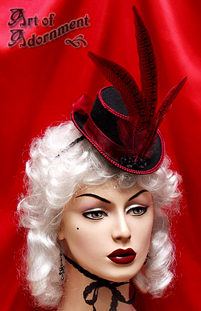 Lucrezia Mini Top Hat by Valerian