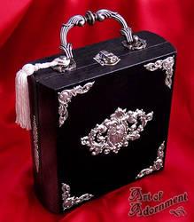 Eros Wood Box Purse by Valerian