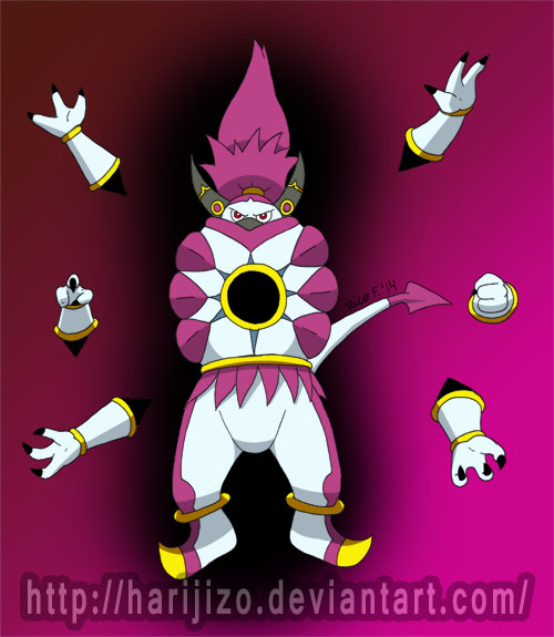 Alternate Form Hoopa by Harijizo on DeviantArt