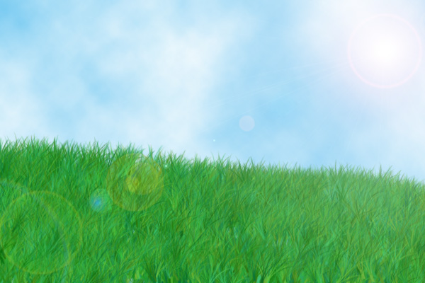 Grass and sky background by Ostria on DeviantArt