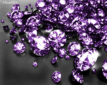 ct diamond color pear shape polished natural purple diamonds