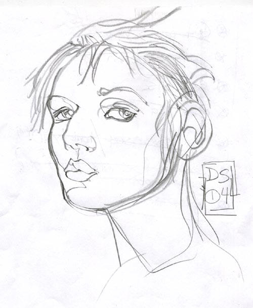 i draw girl says I by fightignorance