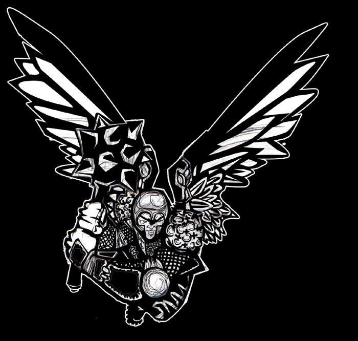 winged blackness by fightignorance
