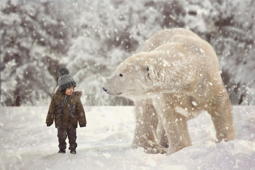 Panda The Polar Bear by SimplicityActions