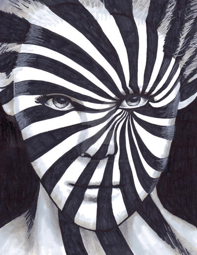 Zebra Face by TheLuckyStarhopper