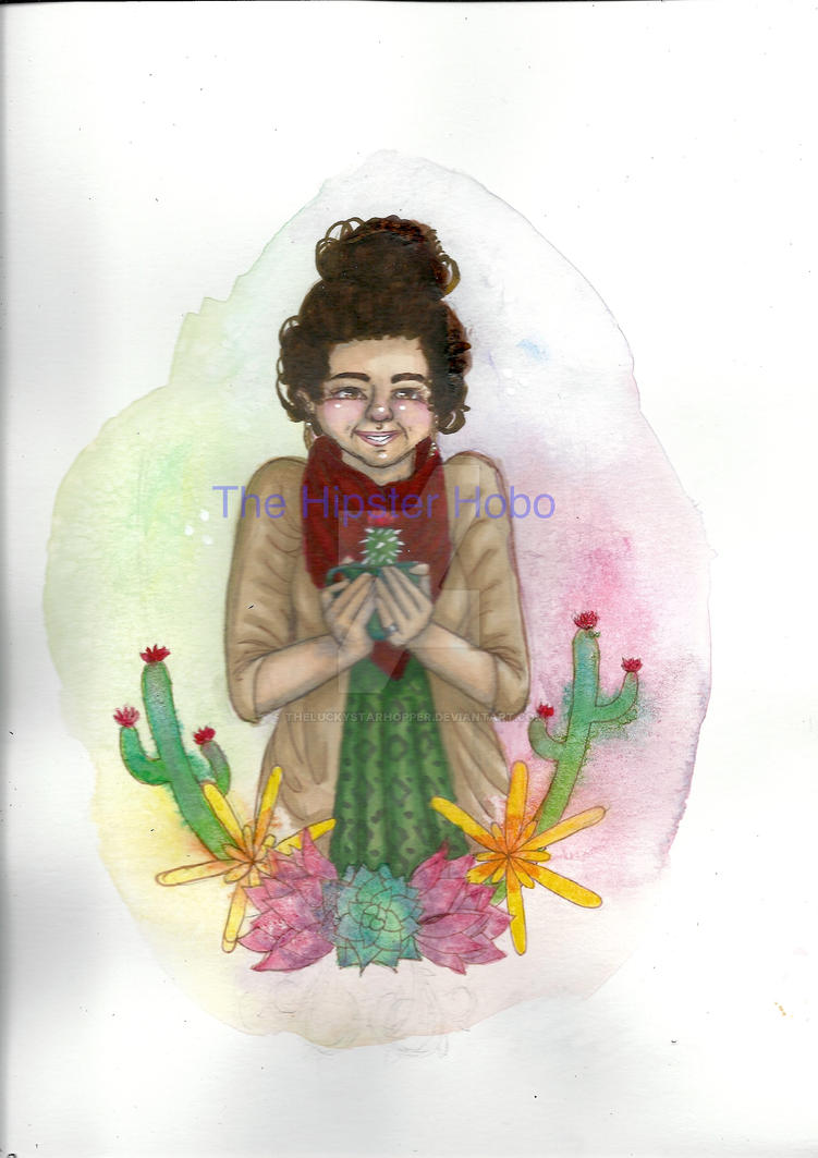 Polly The Cactus Queen by TheLuckyStarhopper