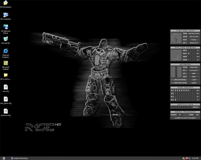 Old Desktop by r1se