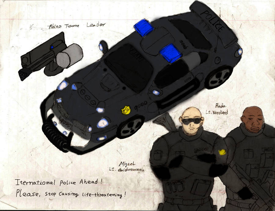Police Rhino Team 29 Leaders by Sporthand