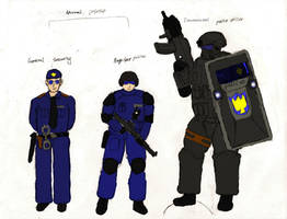 Police Uniforms by Sporthand