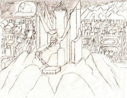 Cantagon's Main City by Sporthand